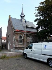 Restauratie van een leien dak!