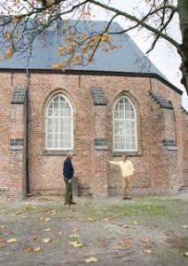 Frits Kool en Eric Janse de Jonge, restauratiecie PGE, november 2013