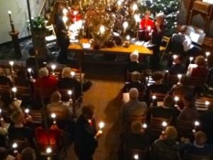 Sfeervolle kerstnacht: ds. Marloes Meijer