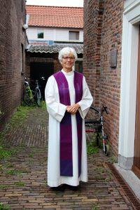 Eredienst: mw. ds. Wil van Egmond