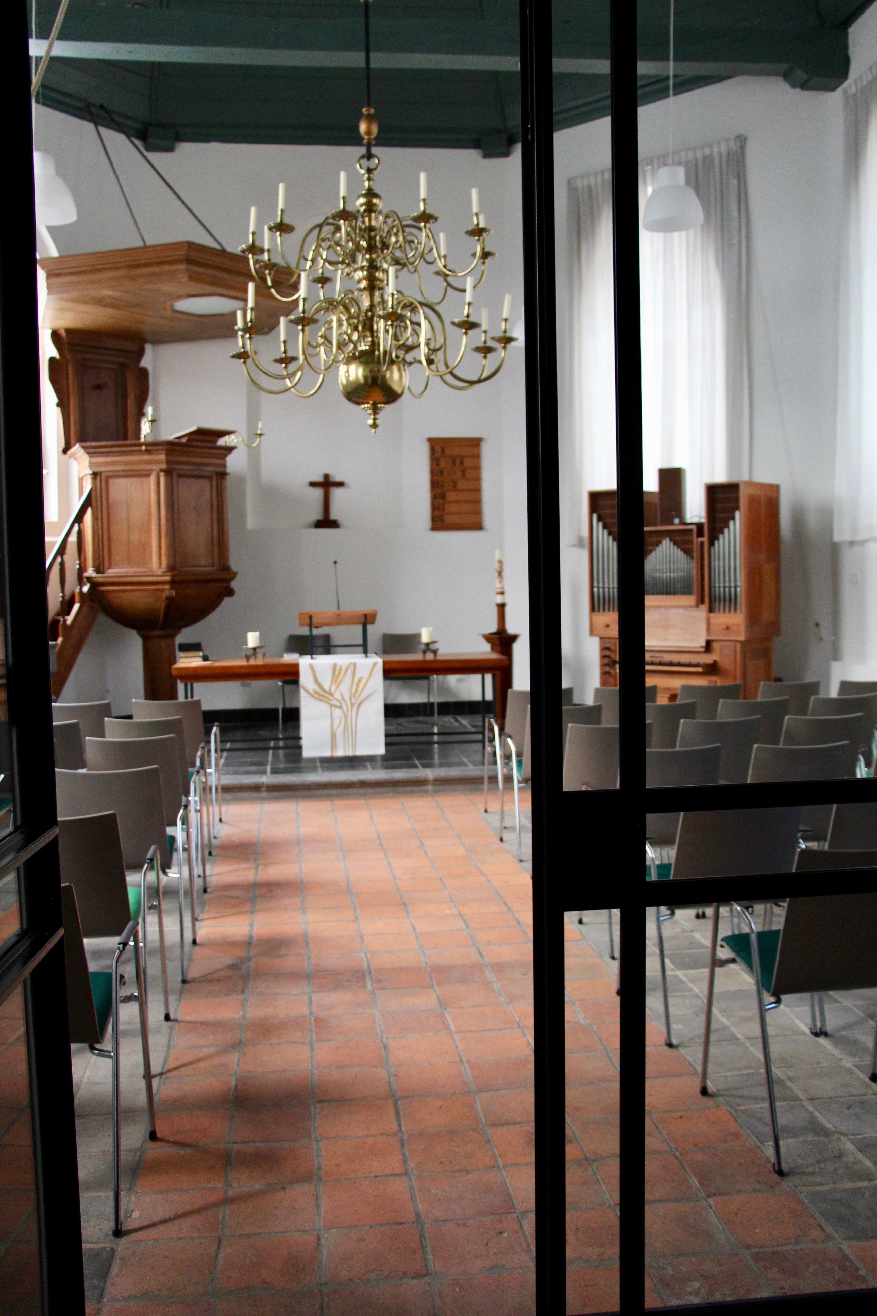 Open kerk' geniet warme belangstelling van het dorp!