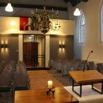 Kerk gereserveerd voor vergadering