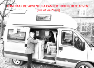 Adventura-camper: deel je verhaal live of via Zoom