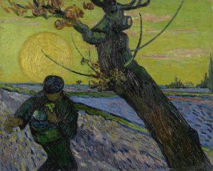 Dienst over Vincent van Gogh: mw. ds. Wil van Egmond